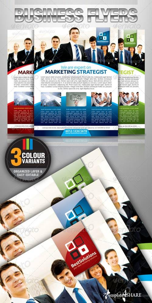 GraphicRiver Simple & Clean Corporate Flyer