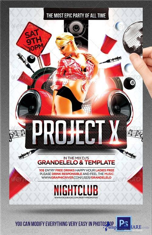 GraphicRiver Project X
