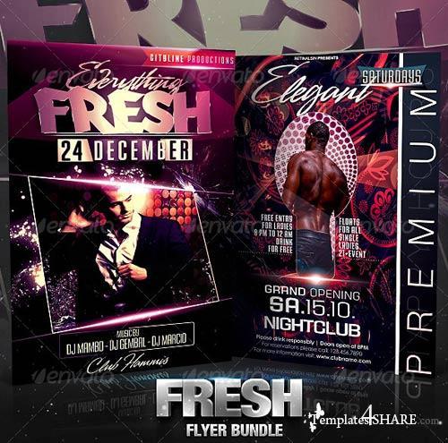 GraphicRiver Fresh Flyer Bundle