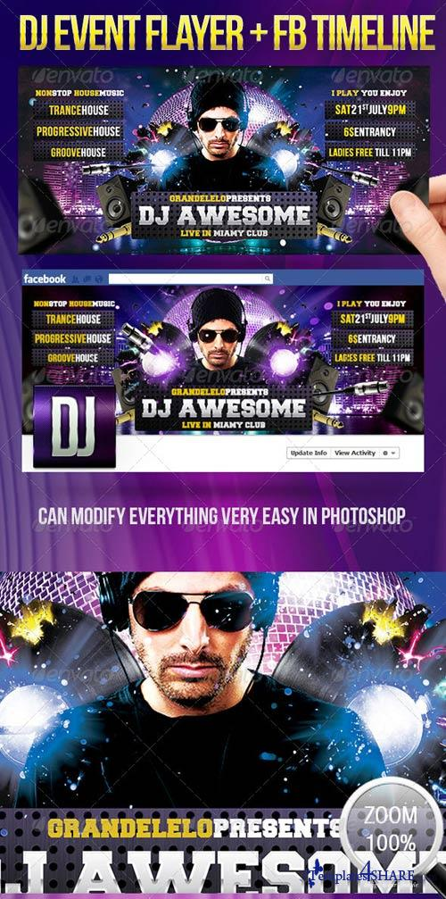 GraphicRiver For the Dj