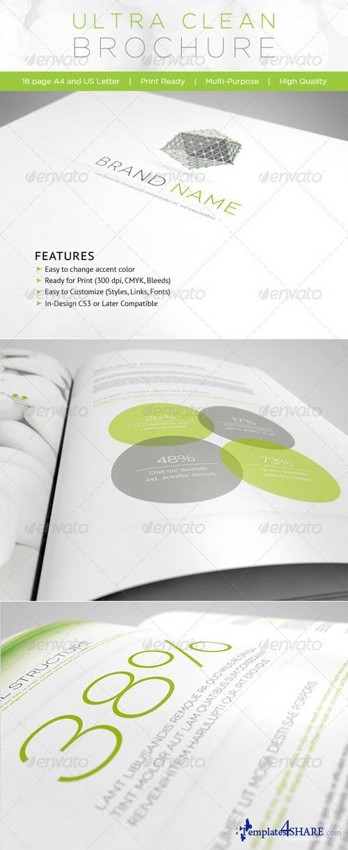 GraphicRiver Ultra Clean Brochure