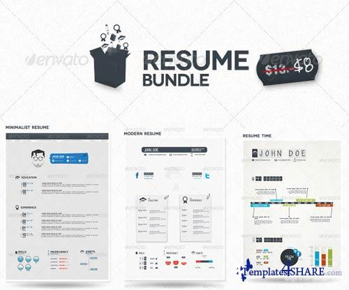 GraphicRiver Bundle Resume