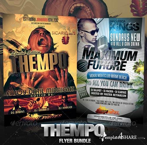 GraphicRiver Thempo Flyer Bundle