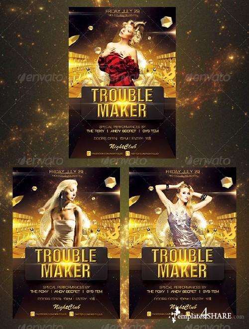 GraphicRiver Trouble Maker Flyer