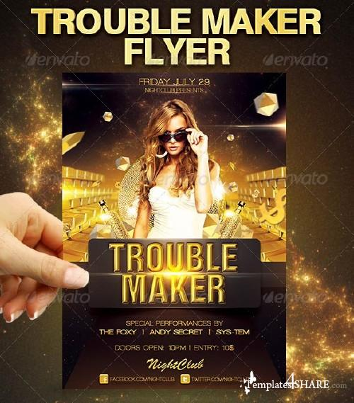 GraphicRiver Trouble Maker Flyer