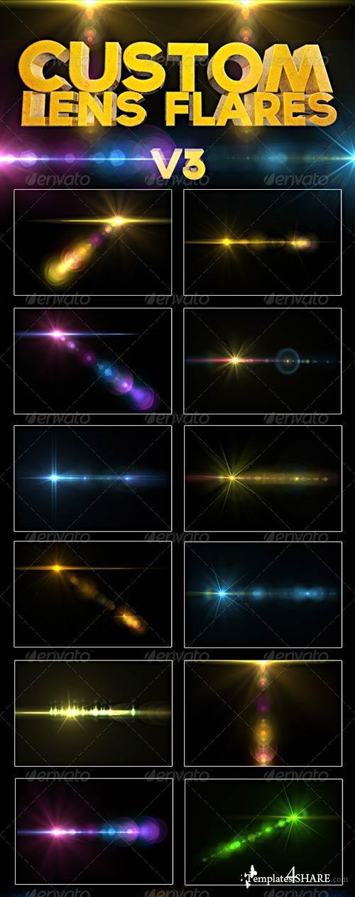 GraphicRiver Custom Lens Flares V3