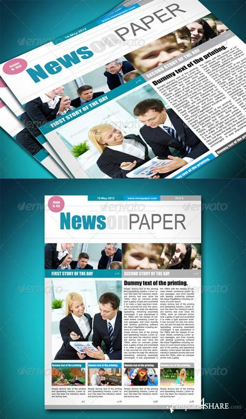 GraphicRiver Newspaper Template
