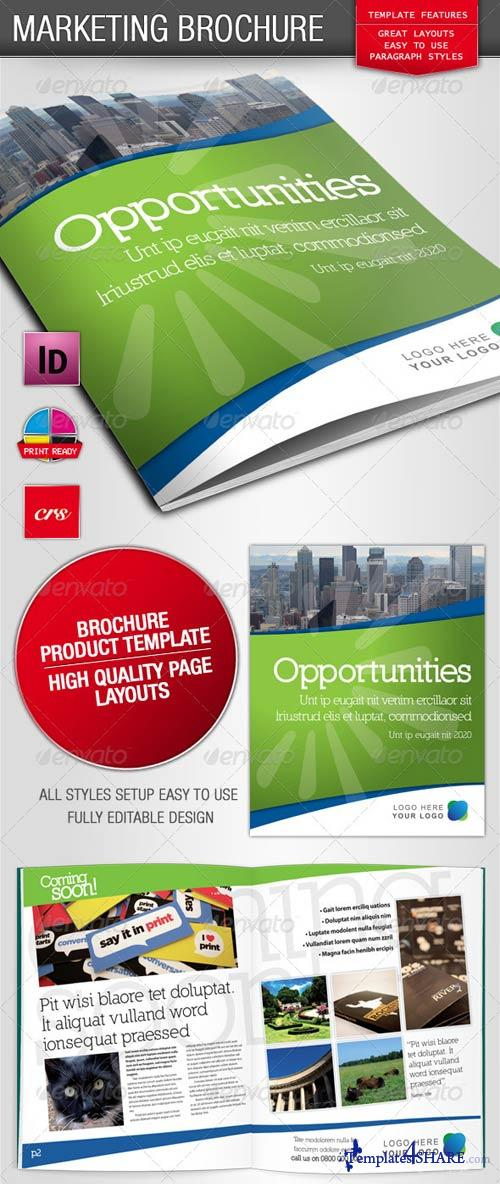 GraphicRiver Eight Page Stylish Marketing Brochure