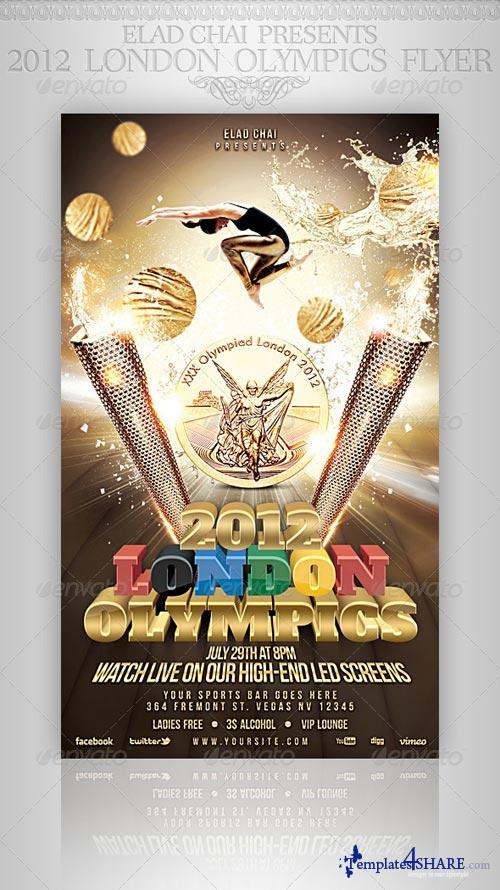 GraphicRiver 2012 London Olympics Flyer Template