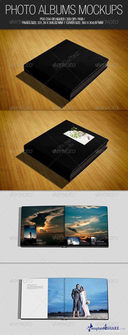 GraphicRiver Photo Albums Mockups