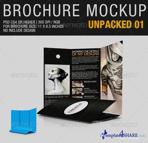 GraphicRiver Brochure Mockup Unpacked 01