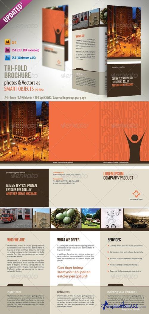 GraphicRiver Tri-Fold A4 Brochure
