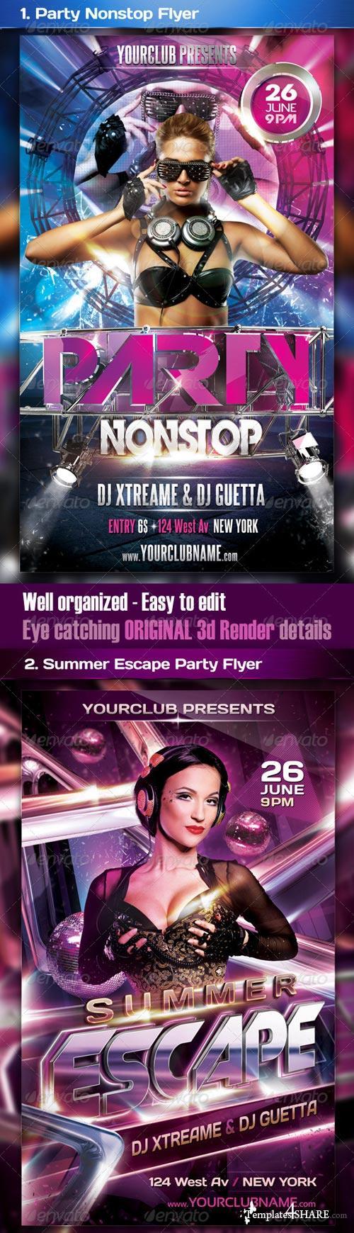 GraphicRiver Top Party Flyer Bundle Vol4