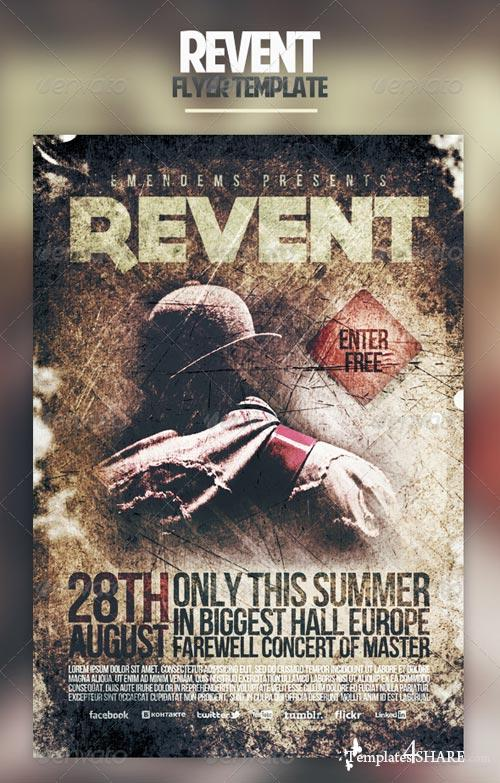 GraphicRiver Revent Flyer Template