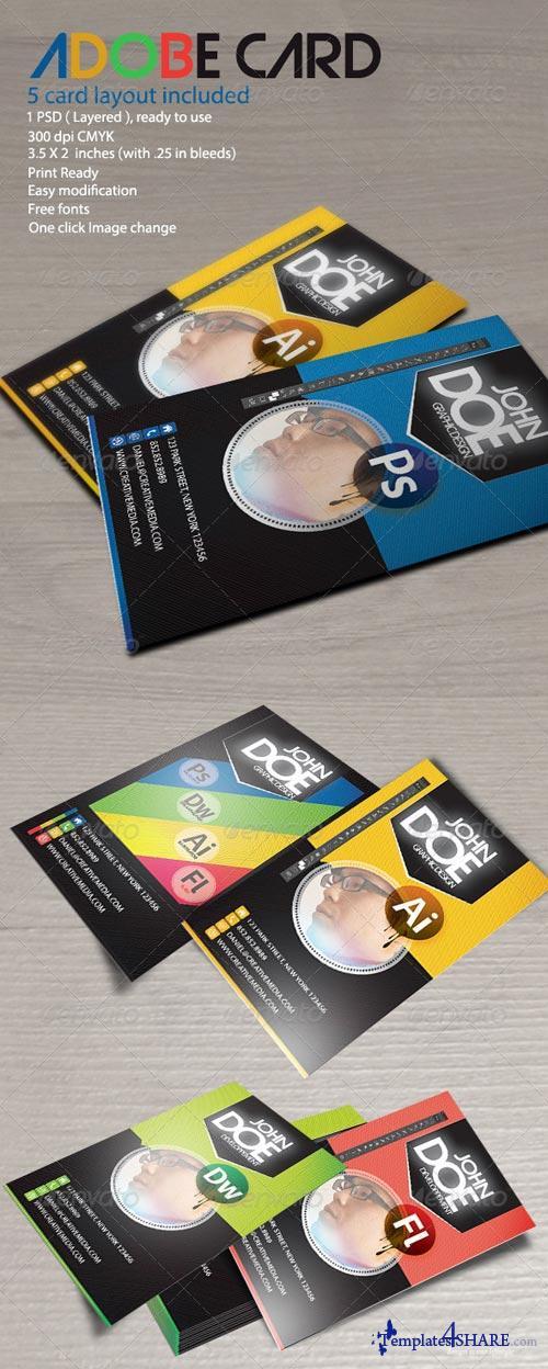 GraphicRiver Adobe Card