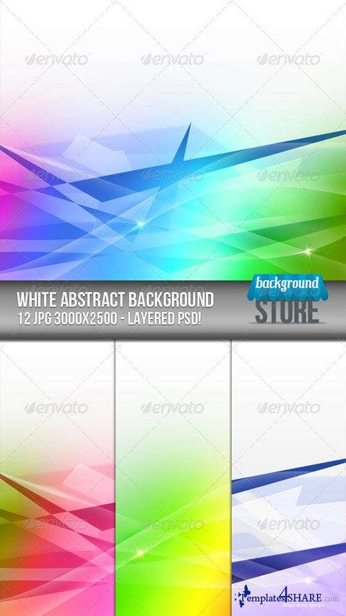 GraphicRiver White Abstract Background