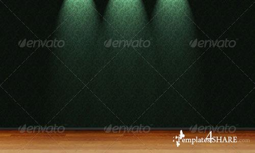 GraphicRiver Decorative Background With Light