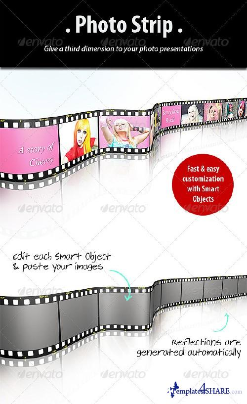 GraphicRiver Photo Strip Template