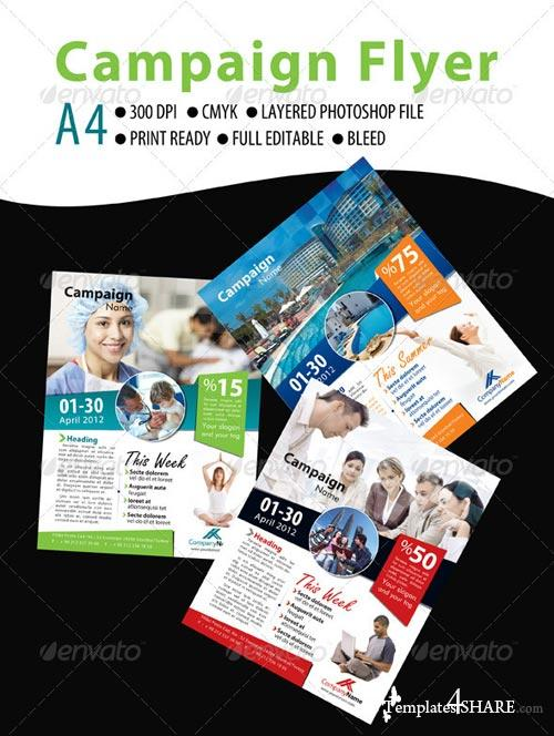 GraphicRiver Campaign Flyer