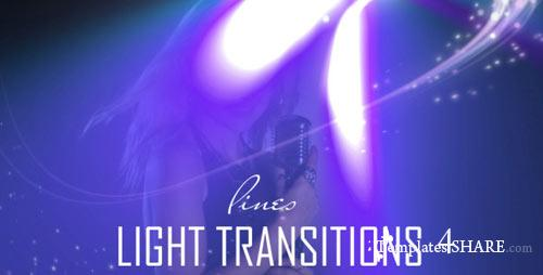 Lines Light Transitions (15-Pack) - Motion Graphics (VideoHive)