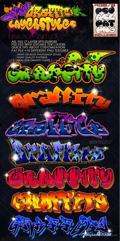 GraphicRiver Graffiti Layer Styles