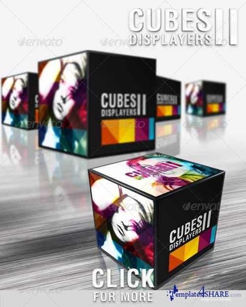 GraphicRiver Cubes Displayers II