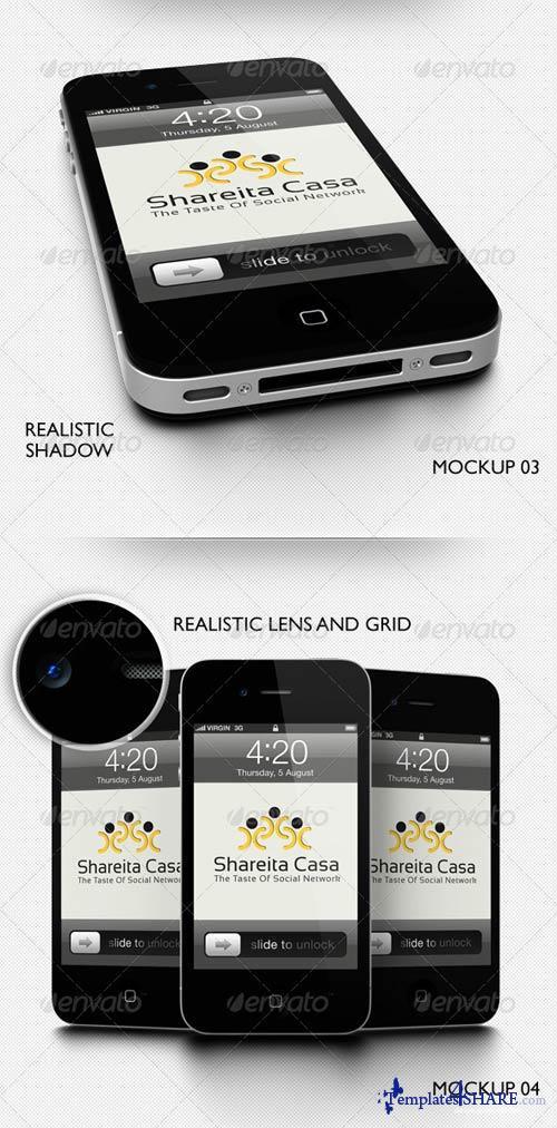 GraphicRiver Mobile Application Showcase Mockup