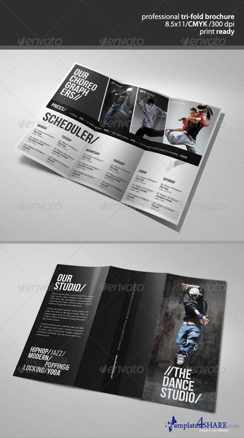 GraphicRiver Dance Studio Brochure 2