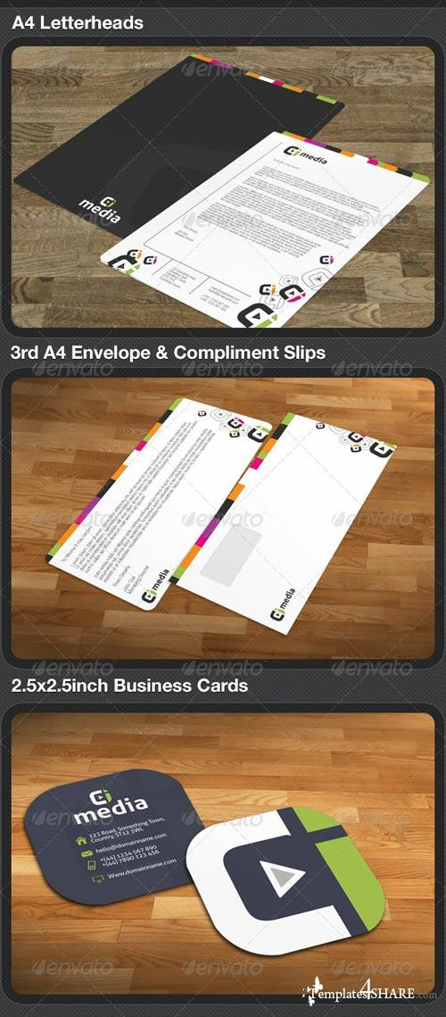 GraphicRiver Media Full Creative Business Set
