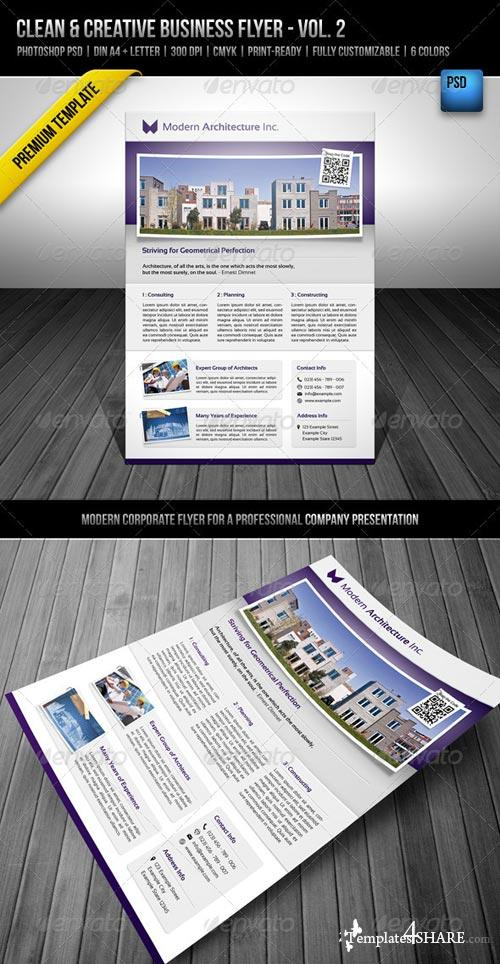 GraphicRiver Clean & Creative Business Flyer - Vol. 2