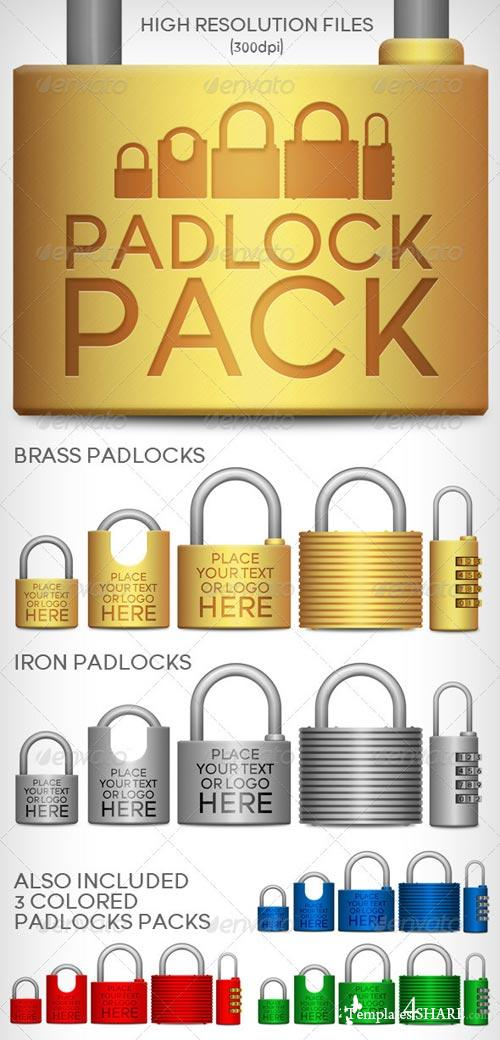GraphicRiver Padlocks Pack