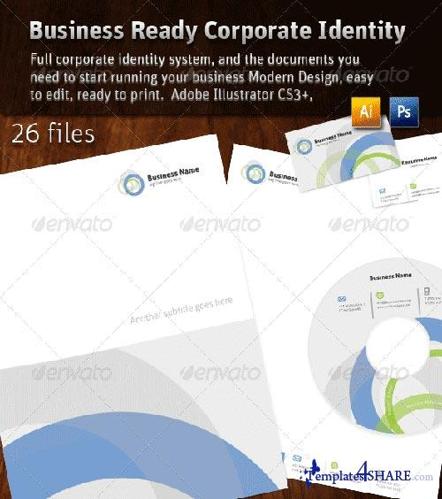 GraphicRiver Business Ready Corporate Identity