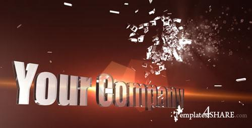 3D Shatter Logo - Project for After Effects (Videohive) - REUPLOAD