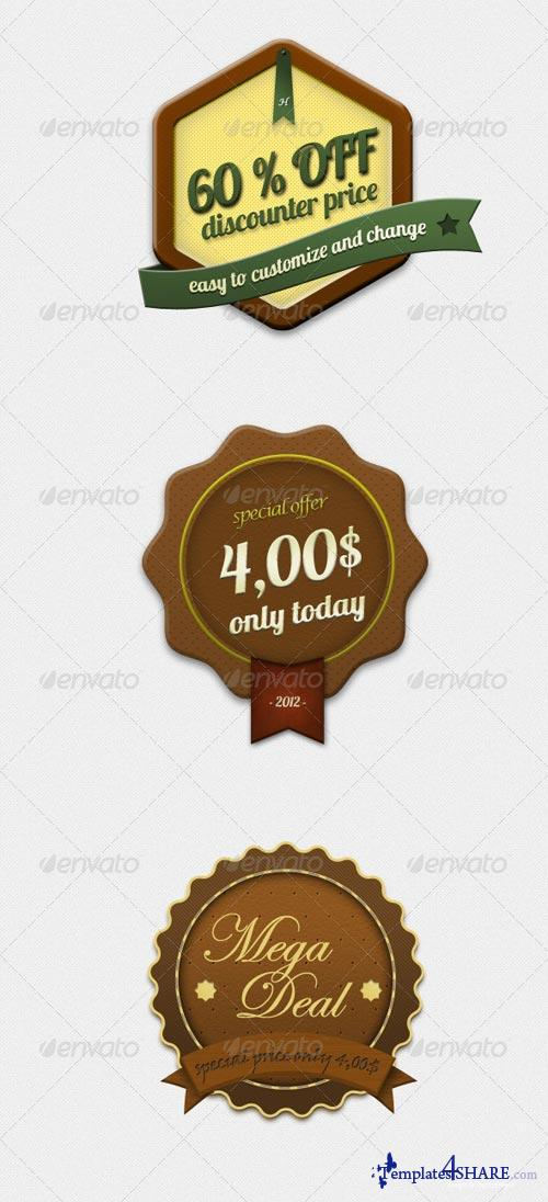 GraphicRiver Rustical Special Offer Badges