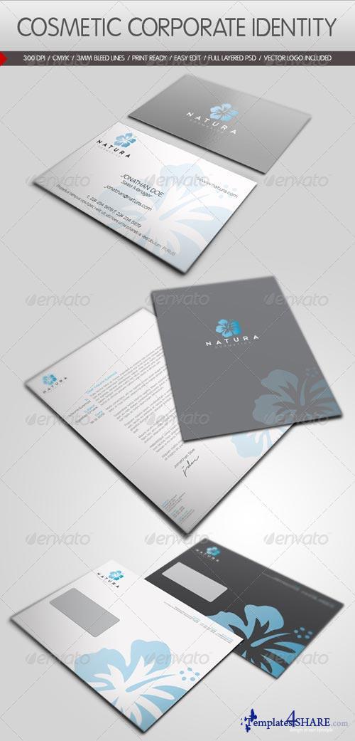 GraphicRiver Cosmetic Corporate Identity