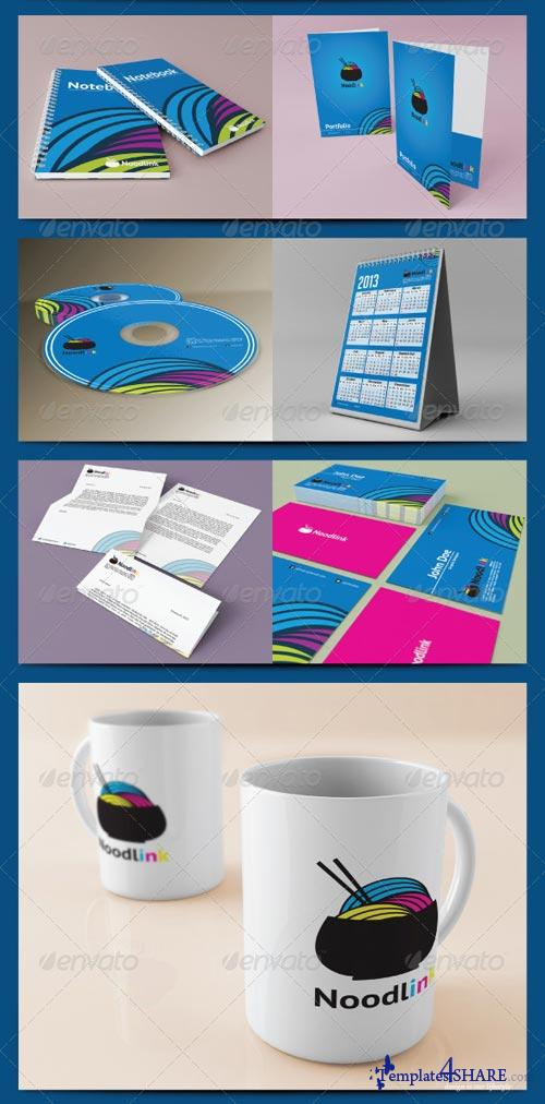 GraphicRiver Corporate Identity Mockup