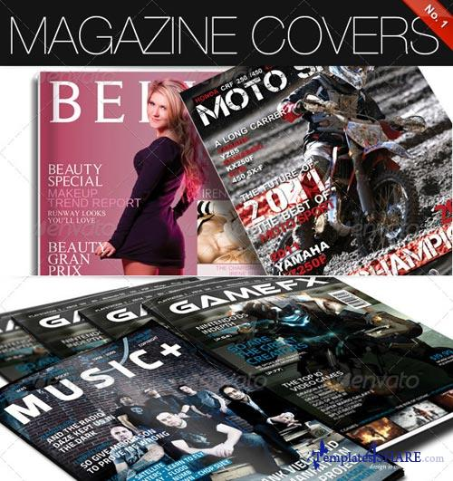 GraphicRiver Magazine Covers No. 1