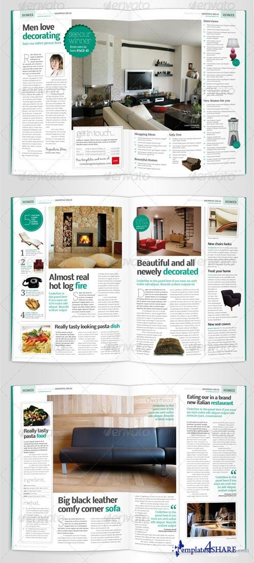 GraphicRiver Lifestyle Magazine