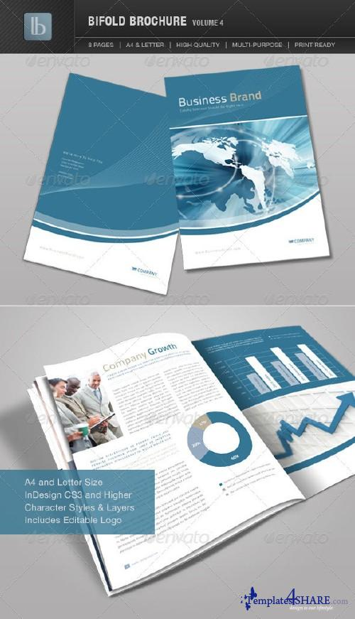 GraphicRiver Bifold Brochure | Volume 4