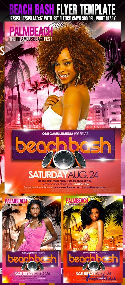 GraphicRiver The Beach Bash Template