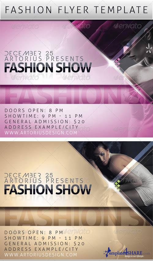 GraphicRiver Fashion Promo Flyer Template