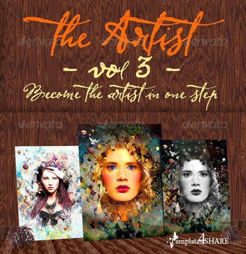 GraphicRiver The Artist - Volume3