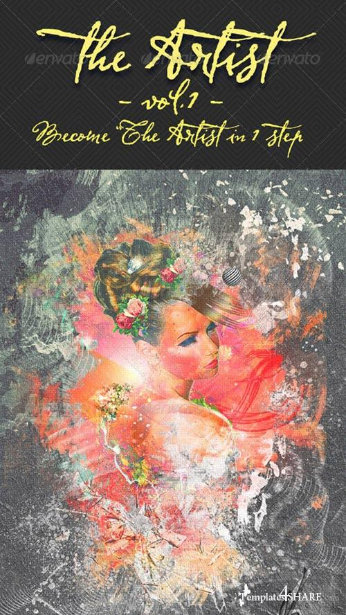 GraphicRiver The Artist - Volume1