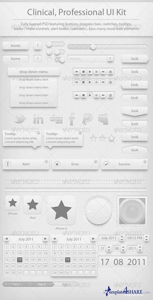 GraphicRiver Clinic UI Kit