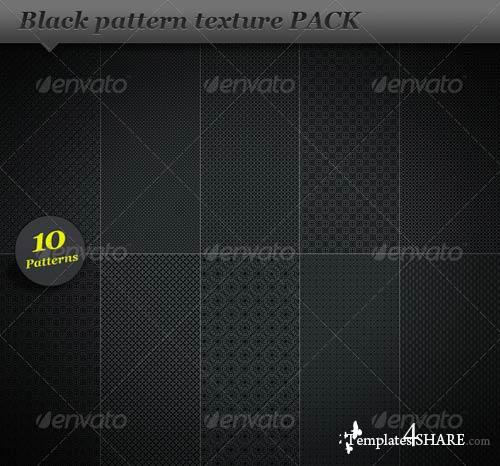 GraphicRiver Black pattern background texture
