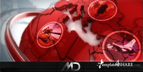 Broadcast Design News ID - Project for After Effects (Videohive) - REUPLOAD