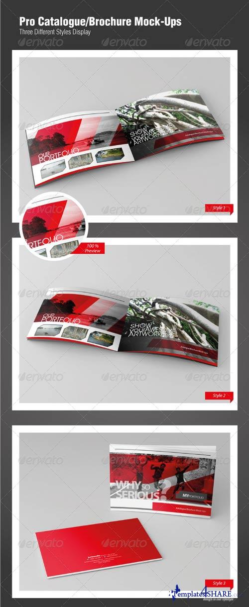GraphicRiver Pro Catalogue/Brochure Mock-Ups