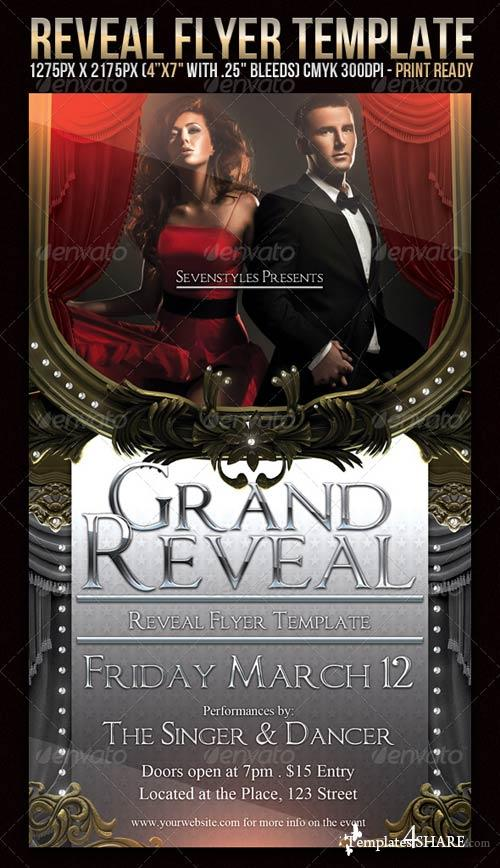 GraphicRiver Reveal Flyer Template
