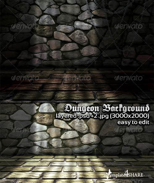 GraphicRiver Dungeon Background