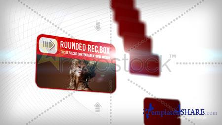 Rounded Rectangle Boxes - Project for After Effects (Revostock) - REUPLOAD